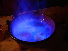 La queimada. Foto tomada de Wikipedia en la entrada del mismo nombre.